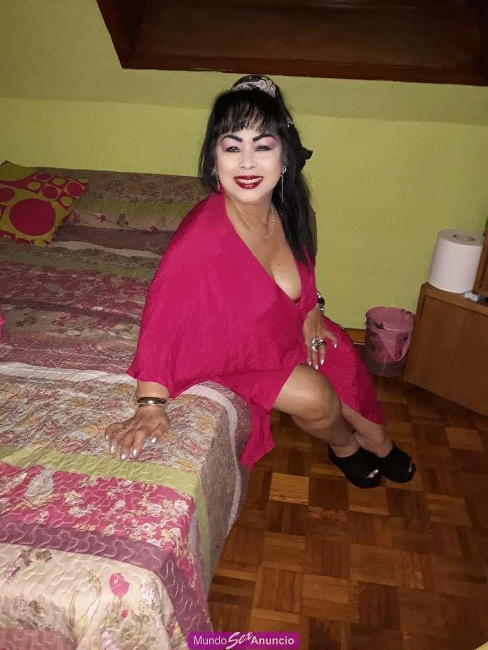 Nueva chica asiatica madurita