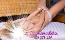 Esmeraldas colombiana caliente