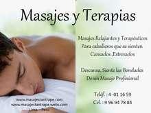 Masajes relajantes para hombres sala de masajes
