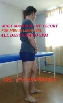 Exciting nuru massage for gentlemen by male masseur in peru